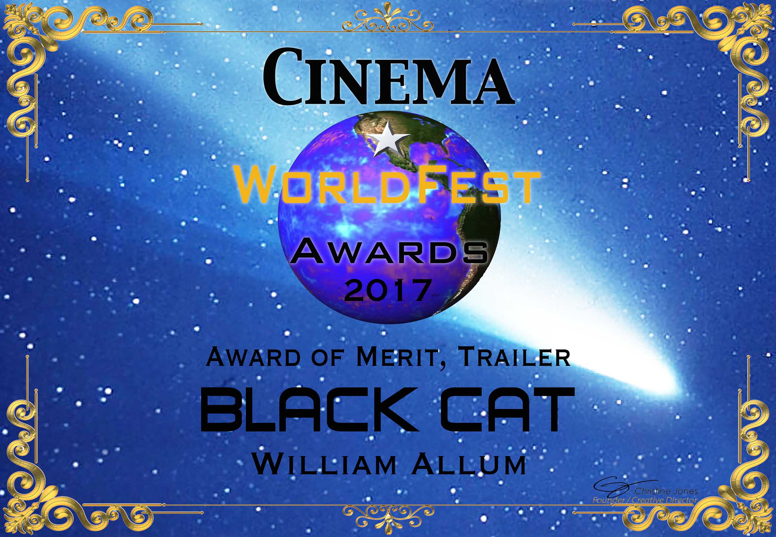 WorldFest Win Black Cat